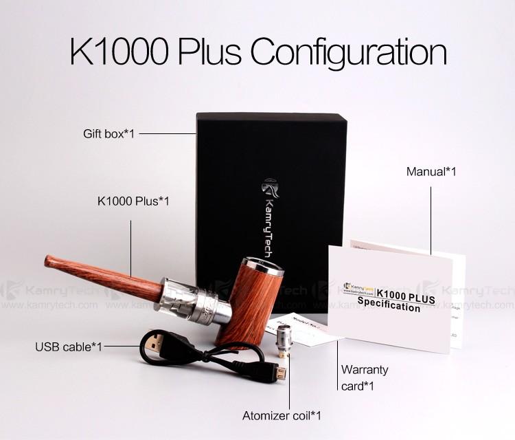 Kamry K Plus E Pipe Kit